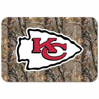 Kansas City Chiefs 20 x 30 Mat (Realtree)