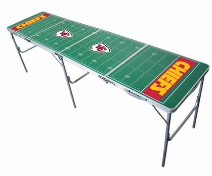 Kansas City Chiefs 2x8 Tailgate Table