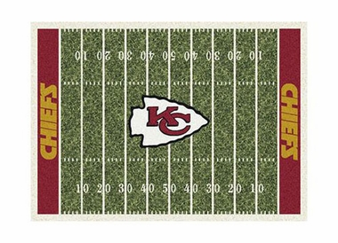 "Kansas City Chiefs 3'10"" x 5'4"" Premium Field Rug"
