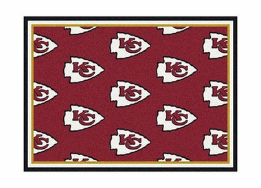 "Kansas City Chiefs 3'10"" x 5'4"" Premium Pattern Rug"