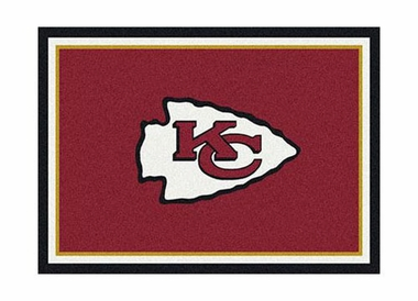 "Kansas City Chiefs 3'10"" x 5'4"" Premium Spirit Rug"