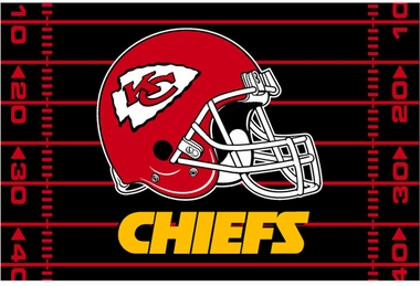 Kansas City Chiefs 40 x 60 Rug