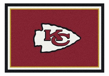 "Kansas City Chiefs 5'4"" x 7'8"" Premium Spirit Rug"