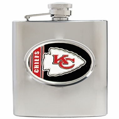 Kansas City Chiefs 6 oz. Hip Flask