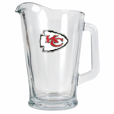 Kansas City Chiefs 60 oz Glass Pitcher