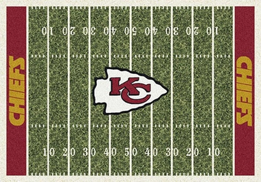 "Kansas City Chiefs 7'8"" x 10'9"" Premium Field Rug"
