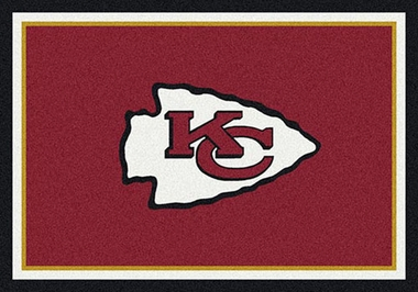 "Kansas City Chiefs 7'8"" x 10'9"" Premium Spirit Rug"