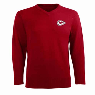 Kansas City Chiefs Mens Ambassador Sweater (Team Color: Red)