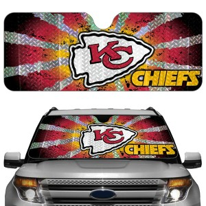 Kansas City Chiefs Auto Sun Shade