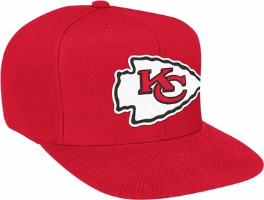 Kansas City Chiefs Basic Logo Snap Back Hat