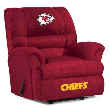 Kansas City Chiefs Big Daddy Recliner