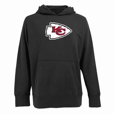Kansas City Chiefs Big Logo Mens Signature Hooded Sweatshirt (Alternate Color: Black)