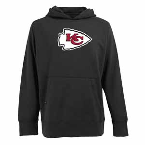 Kansas City Chiefs Big Logo Mens Signature Hooded Sweatshirt (Alternate Color: Black) - XXX-Large
