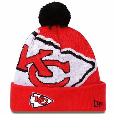 Kansas City Chiefs Biggie Cuffed Knit Hat