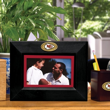 Kansas City Chiefs BLACK Landscape Picture Frame