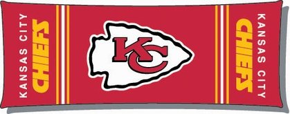 Kansas City Chiefs Body Pillow