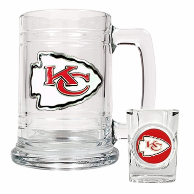 Kansas City Chiefs Boilermaker Set