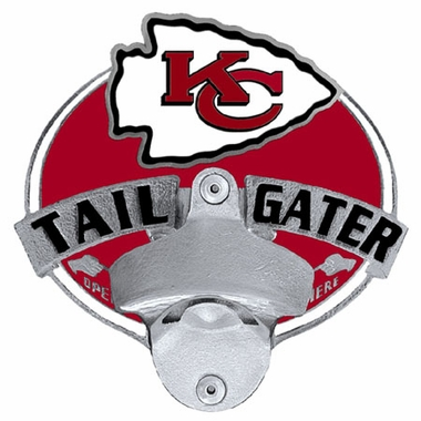 Kansas City Chiefs Bottle Opener Hitch Cover