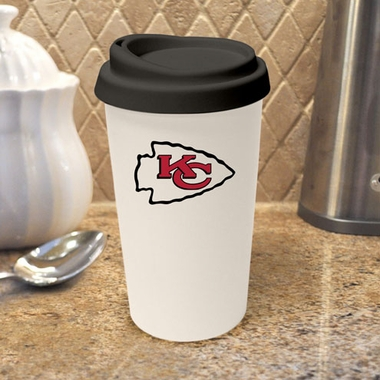 Kansas City Chiefs Ceramic Travel Cup