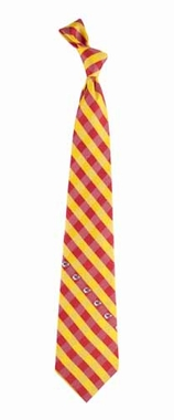 Kansas City Chiefs Check Poly Necktie