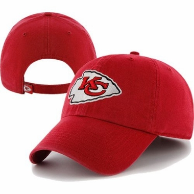 Kansas City Chiefs Cleanup Adjustable Hat