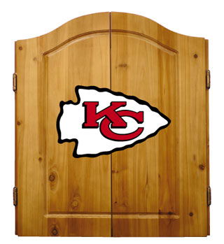 Kansas City Chiefs Complete Dart Cabinet
