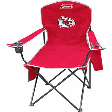 Kansas City Chiefs Cooler Quad Tailgate Chair