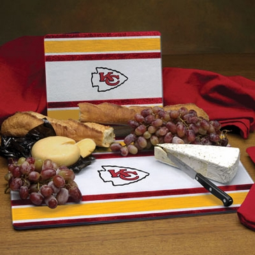 Kansas City Chiefs Cutting Board Set