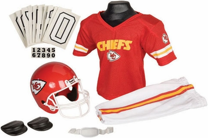 Kansas City Chiefs Deluxe Youth Uniform Set