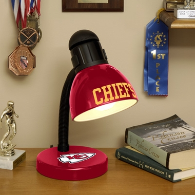Kansas City Chiefs Dorm Lamp