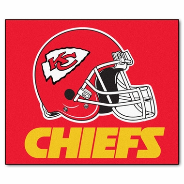 Kansas City Chiefs Economy 5 Foot x 6 Foot Mat