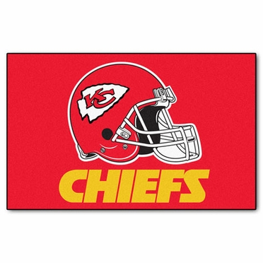 Kansas City Chiefs Economy 5 Foot x 8 Foot Mat