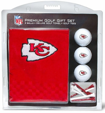 Kansas City Chiefs Embroidered Towel Gift Set