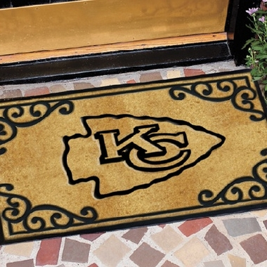 Kansas City Chiefs Exterior Door Mat