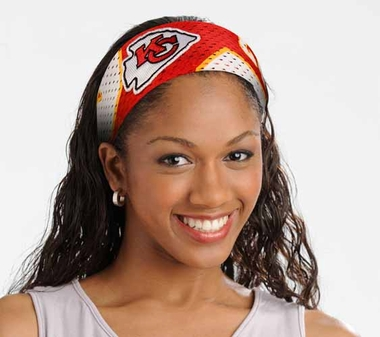 Kansas City Chiefs FanBand Hair Band