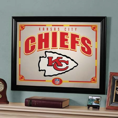 Kansas City Chiefs Framed Mirror