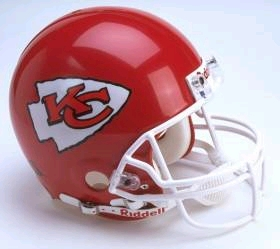 Kansas City Chiefs Full Sized Replica Helmet