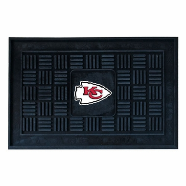 Kansas City Chiefs Heavy Duty Vinyl Doormat