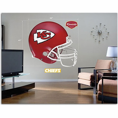 Kansas City Chiefs Helmet Fathead Wall Graphic