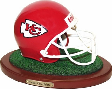 Kansas City Chiefs Helmet Figurine