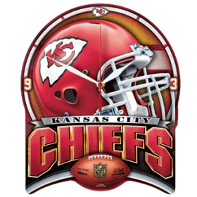 Kansas City Chiefs High Definition Wall Clock