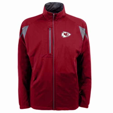 Kansas City Chiefs Mens Highland Water Resistant Jacket (Team Color: Red)