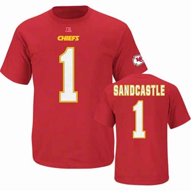 Kansas City Chiefs Leon Sandcastle Eligible Receiver Player T-Shirt