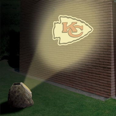 Kansas City Chiefs Logo Projection Rock