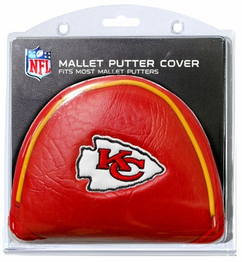 Kansas City Chiefs Mallet Putter Cover