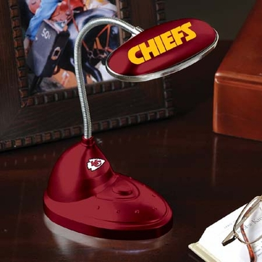 Kansas City Chiefs Mini LED Desk Lamp