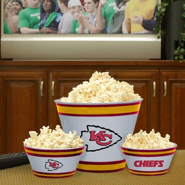 Kansas City Chiefs Plastic Serving Set