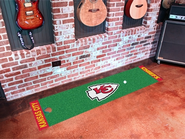 Kansas City Chiefs Putting Green Mat