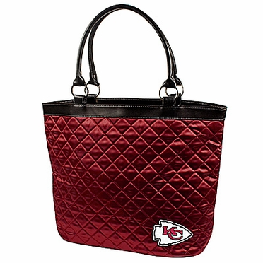 Kansas City Chiefs Quilted Tote