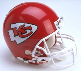 Kansas City Chiefs Pro Line Helmet